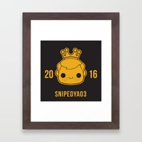 Snipedya03 Framed Art Print