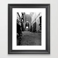 Eastern State. Framed Art Print