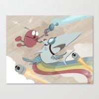 Return To The Super Fire… Canvas Print