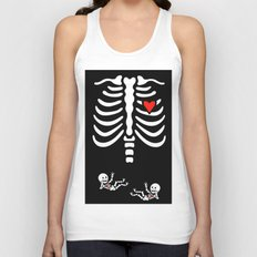 Skeleton Twins Unisex Tank Top