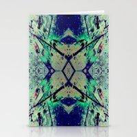 Paint Splatter II Stationery Cards