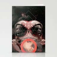 Stationery Cards featuring Dreams Of Space by Robert Høyem