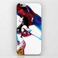 Rainbow Dancer iPhone & iPod Skin