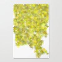Written Circles #4 Socie… Canvas Print