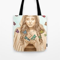 The Butterfly Girl Tote Bag