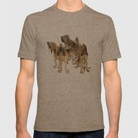 Hounds Mens Fitted Tee Tri-Coffee SMALL