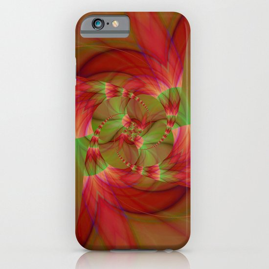 Digital Tulip Flower iPhone & iPod Case