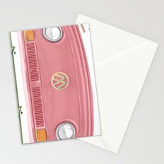 Groovy Blushing Stationery Cards