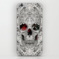 Lace Skull Light iPhone & iPod Skin