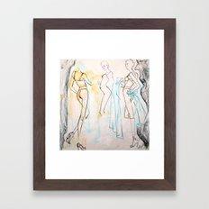 Skinny Legs and All Framed Art Print