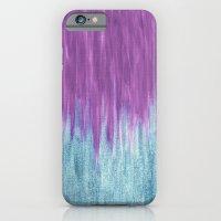 Aqua Sparkle Berry Abstract iPhone 6 Slim Case