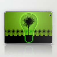 BulB Tree Laptop & iPad Skin