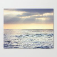California Sunset Over T… Canvas Print