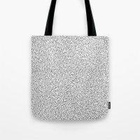 Keys Allover Print Tote Bag