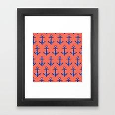 Anchors Framed Art Print