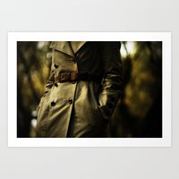 Casablanca Trench Art Print