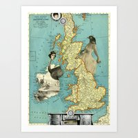 Bird Women of the British Isles Art Print