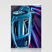 Audi R8 Blur Stationery Cards
