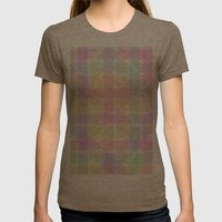 Colors Womens Fitted Tee Tri-Coffee SMALL