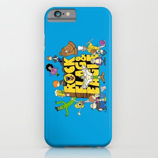 Rock, Flag & Eagle iPhone & iPod Case
