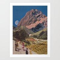 Sightseers Art Print
