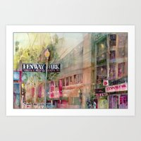 World Series 2013 Fenway Park - Red Sox  Art Print