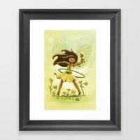 Goblins Drool, Fairies Rule - Hula Hoop  Framed Art Print