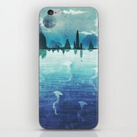 Blue Horizon iPhone & iPod Skin