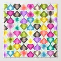 Candy Gouttelette Canvas Print