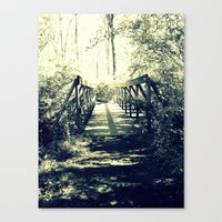 Shadow Bridge Canvas Print