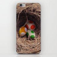 Yoshi Eggs iPhone & iPod Skin