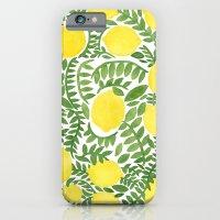 iPhone & iPod Case featuring The Fresh Lemon by haidishabrina
