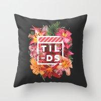Tilds Throw Pillow