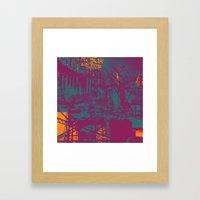 Sometimes It All Comes Together Framed Art Print