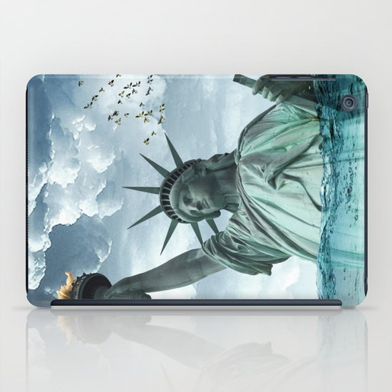 the water line iPad Case