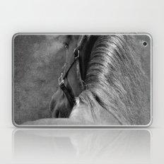 HORSE - SCHWARZ/WEISS Laptop & iPad Skin