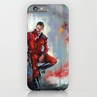 iPhone Cases featuring Star-Lord by Wisesnail