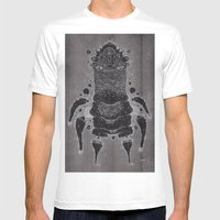 wrinkle warrior Mens Fitted Tee White SMALL