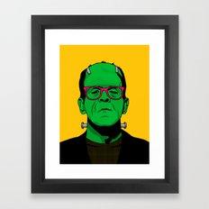 Lichtenstein's Monster Framed Art Print