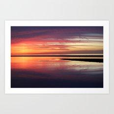 SEA ZEN Art Print