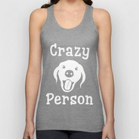 Crazy Dog Person Unisex Tank Top