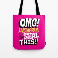 OMG! INSTAGRAM! Tote Bag