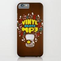 Vinyl Beats Mp3 iPhone 6 Slim Case