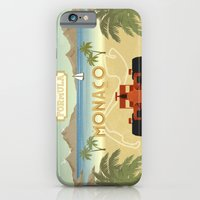 iPhone & iPod Case featuring Formula 1 in Monaco by Daniella Gallistl