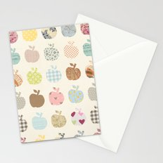 apples galore Stationery Cards