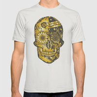 C3P GOLD Mens Fitted Tee Silver SMALL