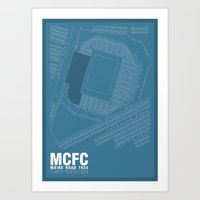 Maine Road - It's Where I Grew Up Art Print