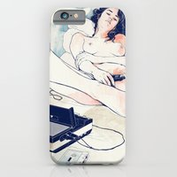 iPhone Cases featuring Nothing to say by Anton Marrast
