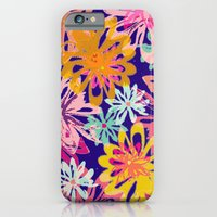 iPhone & iPod Case featuring FlowerHex by AJJ ▲ Angela Jane Johnston