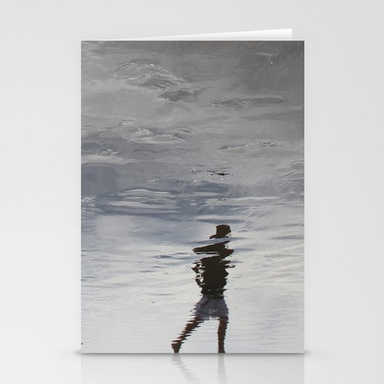 at the edge of a dream Stationery Card